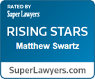 SuperLawyerse Rising Star - Matthew Swartz
